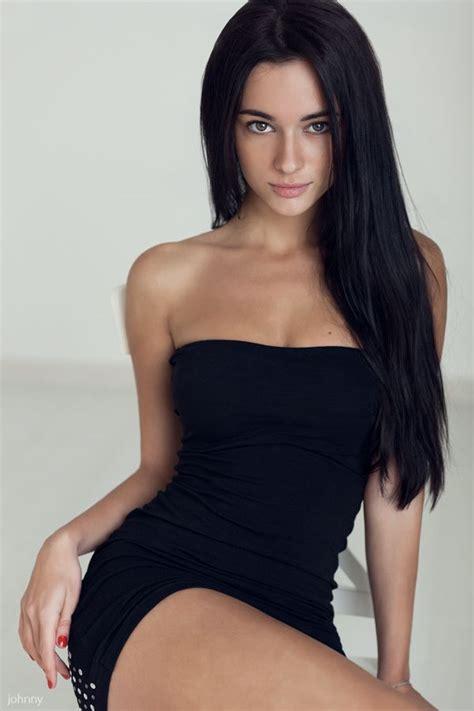Hot black haired women