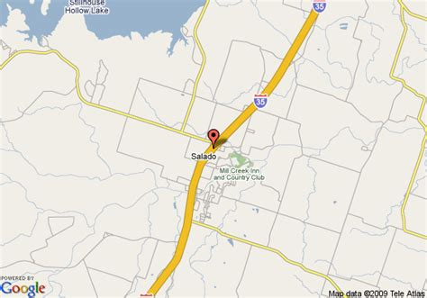 map of salado texas map of inn express hotel suites salado salado