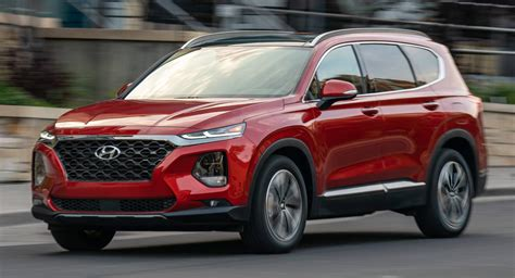 Hyundai Santa Fe 2020 by 2020 Hyundai Santa Fe Diesel And Seven Seat Models