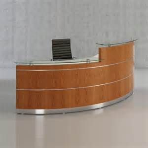 Reception Desk Curved Curved Reception Desk 4