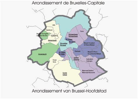 municipalities   brussels capital region full size