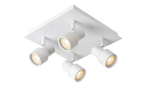 led ceiling lights gu10 bathroom ceiling light led white or chrome gu10 4x4 5w