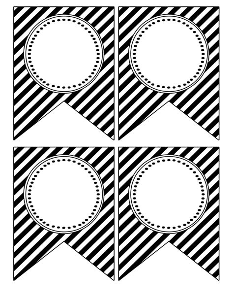 printable happy birthday banner black and white free printable banner templates blank banners paper