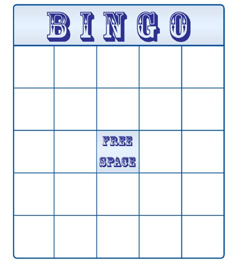 Bingo Card Template by 10 Best Premium Bingo Templates For Free Free