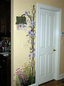 murals on wall garden kitchen murals muralist debbie cerone wall murals