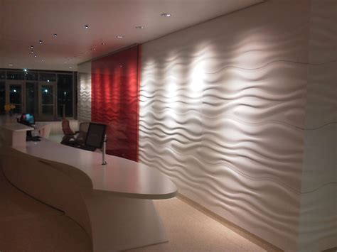 corian 3d wall sculptcor 174 textured thermoform solid surface panels asst