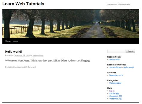 tutorial wordpress site tutorial on installing wordpress 3 0 from start to finish