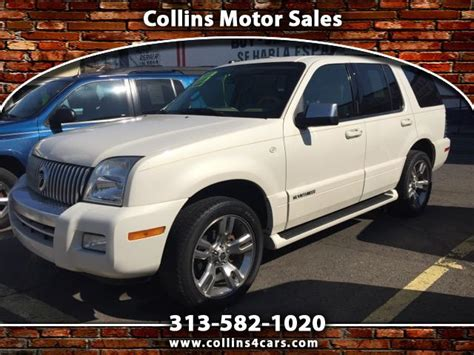 collins motor sales used 2008 mercury mountaineer premier 4 6l awd for sale in