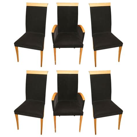mid century modern high back dining chairs mid century modern high back dining chairs at 1stdibs