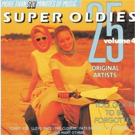 to ru vol 3 4 25 oldies vol 4 to be forgotten by