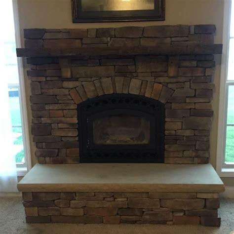 Brick Veneer Fireplace by Veneer Fireplace Bill S Masonry Services
