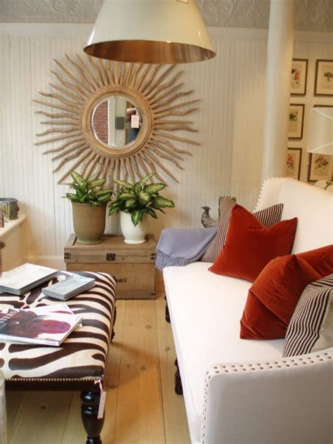 how to decorate with mirrors 21 decorating ideas of using sunburst mirrors shelterness