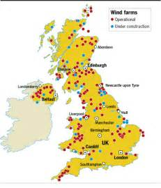wind farm map wind farms uk map images frompo