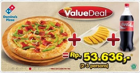 domino pizza indonesia daftar harga menu domino pizza delivery indonesia 2018