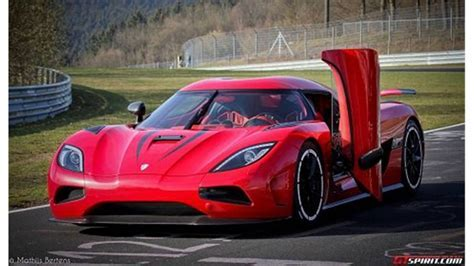 koenigsegg agera r top speed test   YouTube