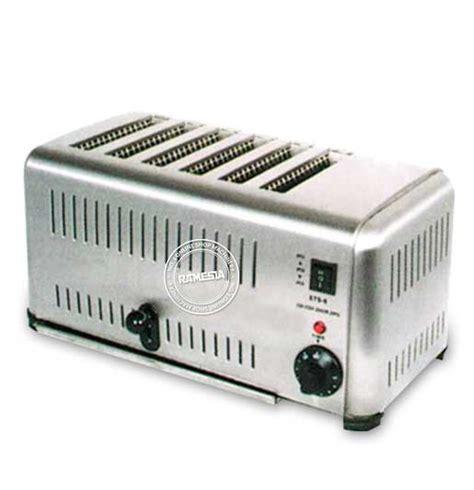 Est6 6 Slot Toaster Alat Untuk Memanggang Roti Bakar pemanggang roti berkualitas dengan bujet terjangkau dari ramesia ramesia mesin indonesia