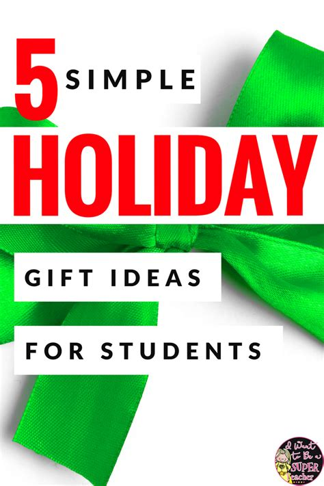 classroom freebies simple holiday student gifts with 3