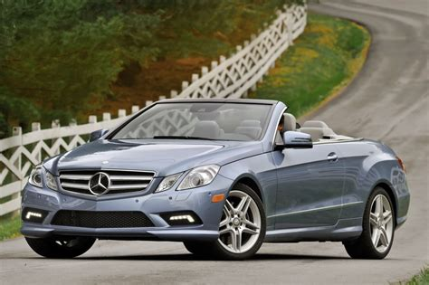 used mercedes convertible used 2013 mercedes benz e class convertible pricing for