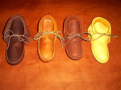 Handmade Moccasins For - leather boots and moccasins handmade buckskin moccasin leather