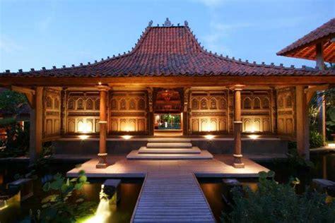 desain atap rumah jawa 10 desain rumah adat jawa tengah rumah joglo lihat co id