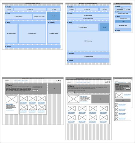 wireframes magazine 187 responsive layout wireframe 40 useful responsive web design tools