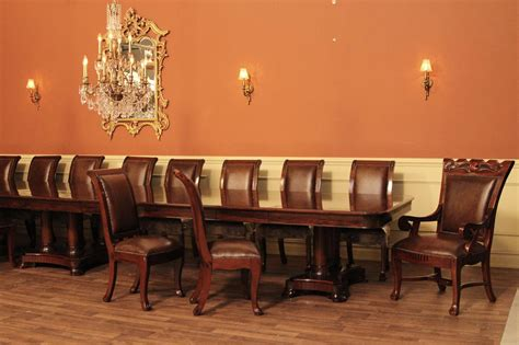 foot extra large mahogany dining table long