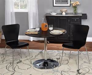 dining sets for small spaces black dinette chairs images home styles 5 piece round pedestal dining set by oj commerce 74699