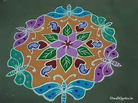 10 Wonderful Freehand Rangoli Designs For Diwali