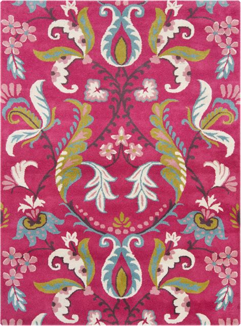 pink floral rug pink floral rugs tufted 5 x7 for sale
