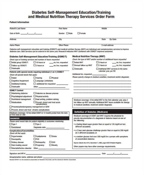 sample service order forms   ms word