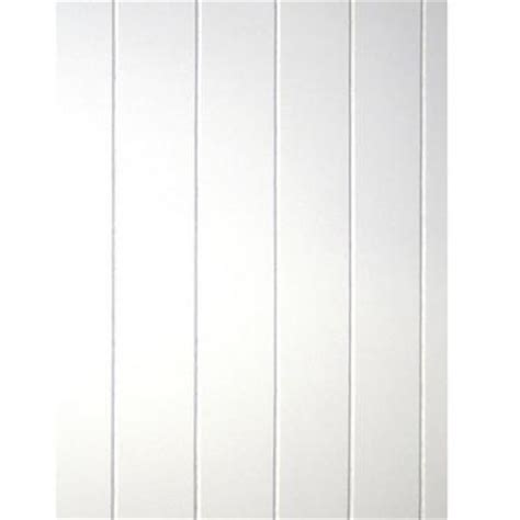 Mdf Beadboard Paneling - 32 sq ft beadboard white v groove panel 109693 the home depot