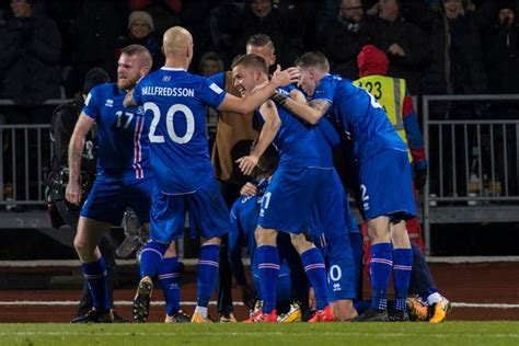l islande se qualifie pour la coupe du monde 2018 une