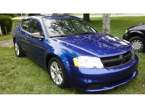 2014 dodge avenger for sale by owner in plainfield in 46168