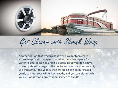 winterizing a pontoon boat how to winterize your pontoon