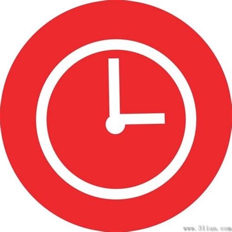 Free Landscape Design Software Upload Photo Red Background Clock Icon Vector Free Vector In Adobe