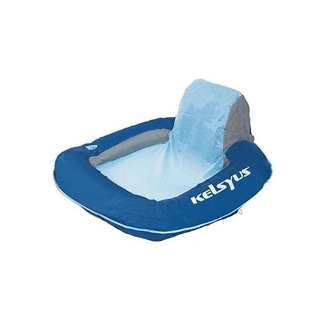 kelsyus floating pool lounger chair w cup