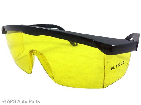 Cycling Goggles Eyewear Glasses Spectacles Work Lab Eye Safety Protect safety goggles glasses eye protection yellow lens construction builder work new ebay