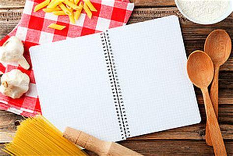 cahier de cuisine vierge les cahiers de recettes cahier de cuisine