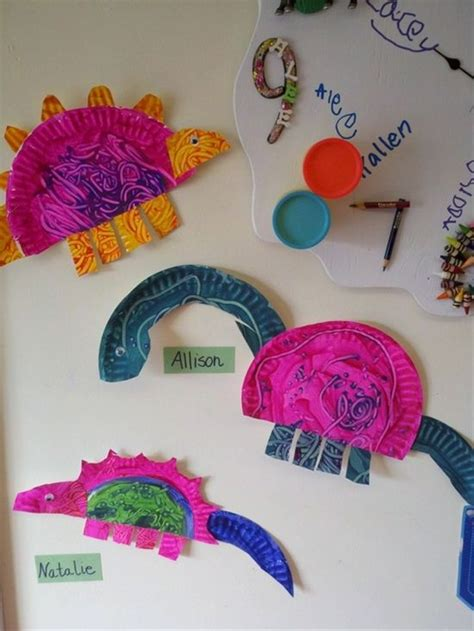 Crafts With Only Paper - dinosaur preschool dinosaur crafts and crafts