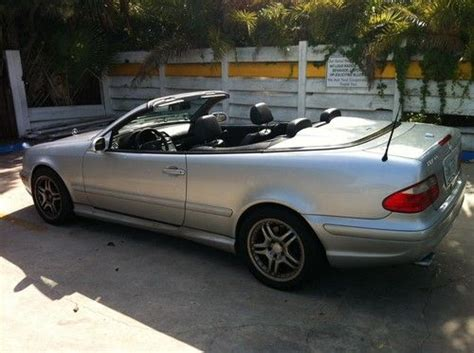 purchase used mercedes clk 55 amg convertible 8 cylinder