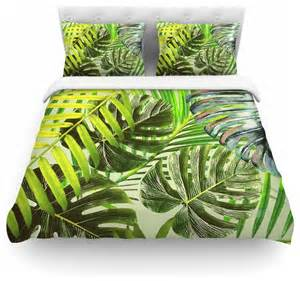 tropical duvet cover king alison coxon quot jungle green quot duvet cover king tropical