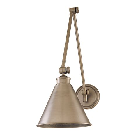wall light swing arm hudson valley lighting 4721 an exeter swing arm wall