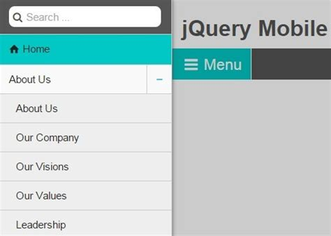 jquery mobile menu jquery plugin to create fully responsive breadcrumbs