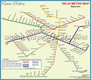 Delhi Metro Map by India Subway Map Travel Map Vacations