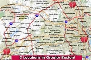 Map Of Boston Suburbs by Similiar Boston Area Keywords