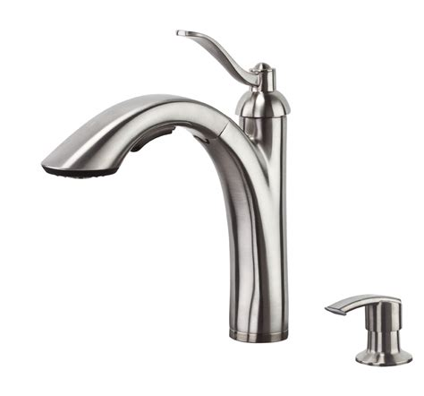 Price Pfister Introduces New Rembrandt Pull Out Kitchen Faucet Price Pfister Pull Out Kitchen Faucet