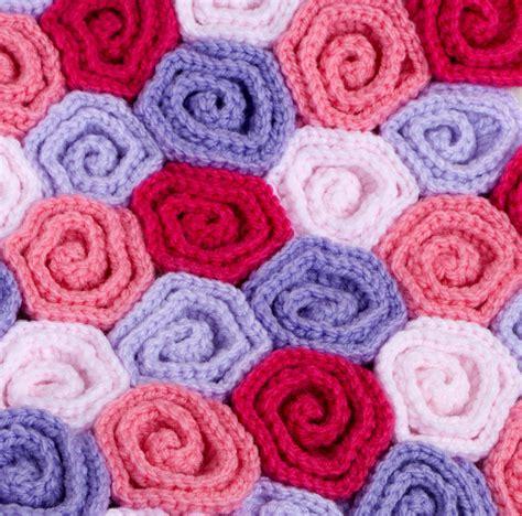 crochet pattern rose field baby blanket crochet pattern rose field yarn twist