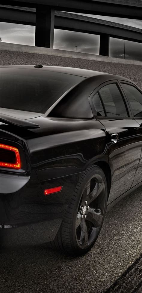 dodge charger black  view road cars wallpapers  samsung galaxy