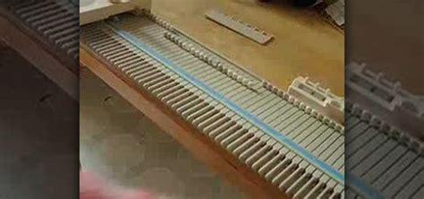 set up knitting how to set up a singer lk 100 knitting machine 171 knitting