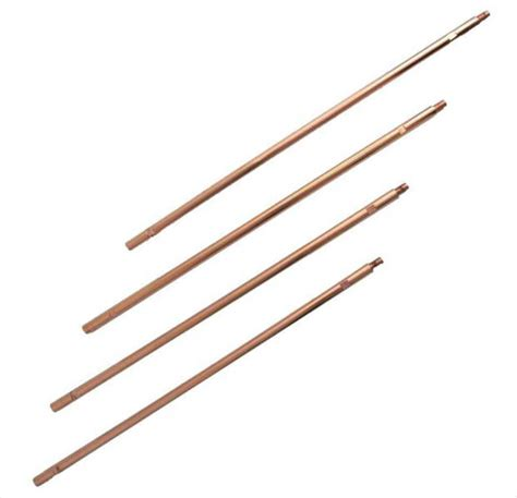 sectional ground rod zareba 8 ft copper ground rod sectional system grsc8 z